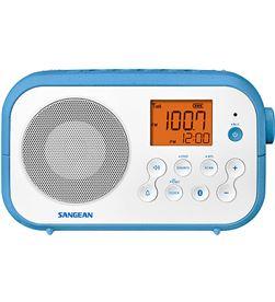 Sangean PR-D12BT BLANCO radio sobremesa fm am bluetooth pilas recargables - +21259
