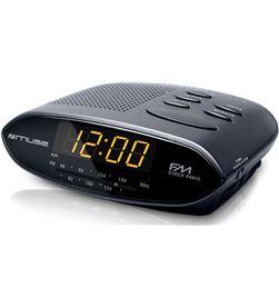 Muse M-10 CR negro radio analógica sobremesa fm snooze - +21350