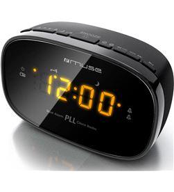 Muse M-150 CR negro radio analógica sobremesa fm snooze autosearch - +21351