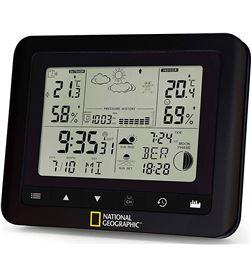 Todoelectro.es WIRELESS WEATHE national geographic negra estación meteorológica interior/exterior dcf func - +21643