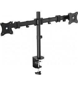 Fonestar STM-6211N soporte de mesa orientable para doble monitor de 13'' a - +22002