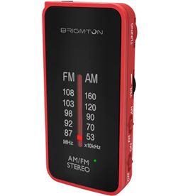 Brigmton BT-224-R rojo radio analógica am/fm portátil - +22074