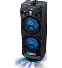 Muse M-1935 DJ negro altavoz para fiestas 400w con bluetooth radio fm usb a - +22167