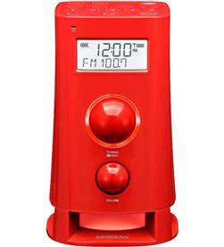 Sangean K-200 RED k-200 rojo radio despertador digital am fm pantalla lcd 2.5'' - +22169