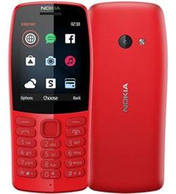 Nokia 210 rojo móvil gsm dual sim 2.4'' qvga 16mb radio fm cámara vga 210 RED - +22726