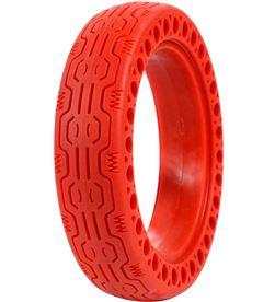 Whinck nduro rojo neumático sólido 8.5'' para Xiaomi mija NDURO-ROJO - +22666