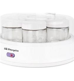 Yogurtera Orbegozo yu 2350 - 15w - capacidad para 7 yogures - tapa transpar 17621 - ORB-PAE-YOG YU 2350
