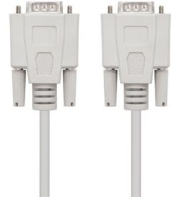 Nanocable -CAB 10 14 0102 cable serie rs232 10.14.0102 - conectores tipo db9/m-db9/m - 1.8m - NAN-CAB 10 14 0102