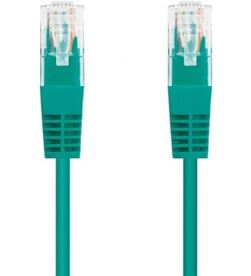 Todoelectro.es latiguillo de red nanocable 10.20.0101-gr - rj45 - utp - cat5e - 1m - verde - 10.20.0101-GR