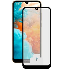 Ksix B0795SC30N protector pantalla huawei y6/y6s 2019 borde negro - B0795SC30N