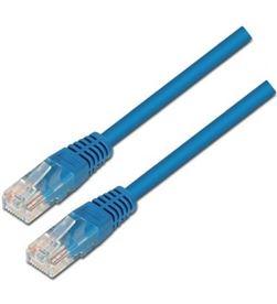 Aisens A133-0190 latiguillo de red - rj45 - utp - cat5e - 0.5m - azul - AIS-CAB A133-0190