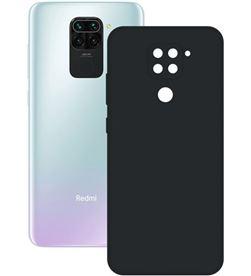 Xiaomi B9089SLK01 funda silk redmi note 9 negra ksix - CONB9089SLK01