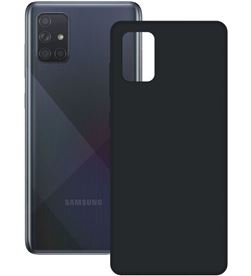 Samsung funda silk galaxy a51 negra ksix b8642slk01 - CONB8642SLK01