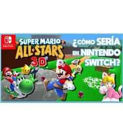 Nintendo SUPERMARIO 3DAS juego para consola switch super mario 3d all-stars (super mario 64 - SUPERMARIO 3DAS