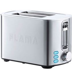Todoelectro.es tostador de pan flama 962fl - 850w - 2 ranuras extra anchas - termostato 6 - FLA-PAE-TOS 962FL