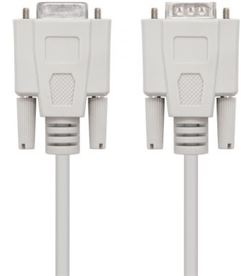 Nanocable -CAB 10 14 0203 cable serie rs232 10.14.0203 - conectores tipo db9/m-db9/h - 3m - - NAN-CAB 10 14 0203