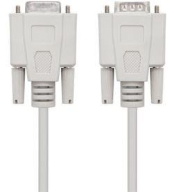 Todoelectro.es cable serie rs232 nanocable 10.14.0203 - conectores tipo db9/m-db9/h - 3m - - NAN-CAB 10 14 0203