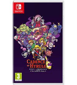 Nintendo 10004593 juego switch cadence of hyrule Consolas - 10004593