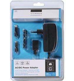 Vivanco 35986 cargador univ ac/dc + usb 2250ma max - 35986