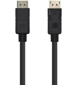 Aisens A149-0389 cable displayport v1.4 - soporta 8k - dp/m-dp/m - 0.8m - n - AIS-CAB A149-0389