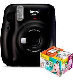 Fujifilm instax mini 11 gris carbón cámara instantánea kit mr. wonderful INSTAX MINI WON - +23336
