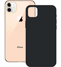 Ksix B0948COR01 funda silicona iphone 12 pro max negra - CONB0948COR01