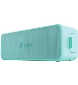 Trust 23827 altavoz con bluetooth zowy max stylish/ 10w rms/ 2.0/ menta - TRU-ALT 23827