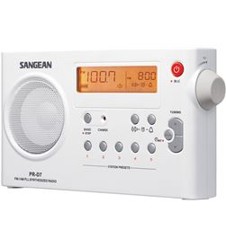 Radio am-fm digital Sangean recarregable pr-d7 PRD7 - PRD7