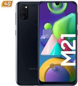 Smartphone móvil Samsung galaxy m21 black - 6.4''/16.25cm - cam (48+8+5)/20m M215 DS BK - SAM-SP M215 DS BK