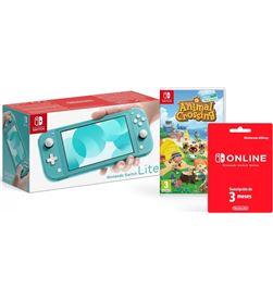 Nintendo switch lite azul turquesa/ incluye código juego animal crossing ne SWLITE 53299 - A0034440