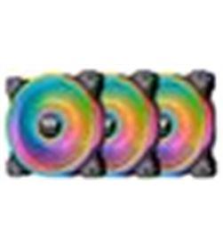 Thermaltake A0030082 ventilador 140x140 ring quad rgb pack 3uds cl-f089-pl14sw- - A0030082