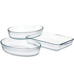 Kforkitchen bandeja horno k for kitchen 3 unid cristal 4575089 - 4575089