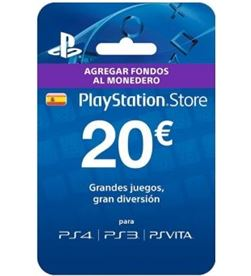 Sony tarjeta de puntos para ps3/psp de 20 euros sps9894735 - SPS9894735