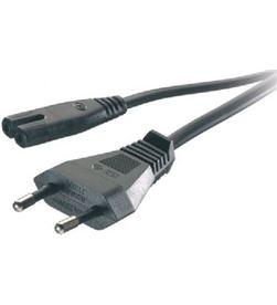 Vivanco 46095 cable corriente euro-tipo 8 46/80 1.25mts negro - 46095