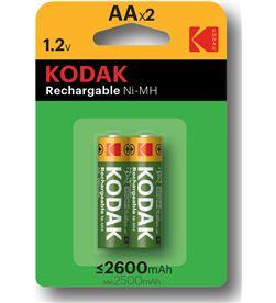 Kodak 30955080 pila recargable nimh aa lr6 2600ma (2un) - 30955080