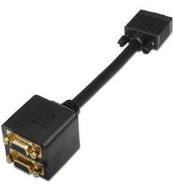 Aisens A113-0080 cable bifurcador svga (3c+9) - hdb15/m-2*hdb15/h - 20cm - AIS-ADP A113-0080