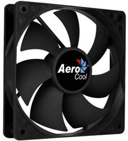 Aerocool FORCE8BK ventilador forcé 8 black - 8cm -aspas curvadas - molex/3 pin - AER-REF FORCE8BK