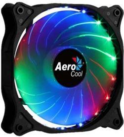 Aerocool -REF COSMO 12 FRGB ventilador cosmo 12 frgb - 12cm - 1000rpm - iluminación rgb fija cosmo12frgb - COSMO12FRGB