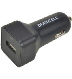 Duracell DR5030A cargador de coche - usb - 5v / 2.4a - color negro - DR5030A