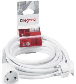 Todoelectro.es 390234 prolongador legrand 2p+t - 10 metros - blanco - 390234