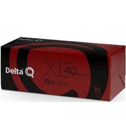 Todoelectro.es DEL-CAFE QALIDUS 40 caja de 40 cápsulas de café delta qalidus - intensidad 10 - compatibles 6254022 - DEL-CAFE QA