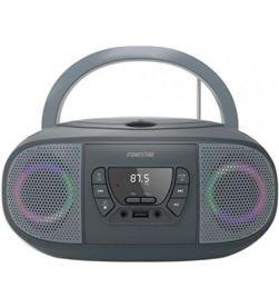 Fonestar BOOM-GO-G radio cd gris - 4w rms - bluetooth - fm - usb/mp3 - aux - FONE-CD BOOM-GO-G