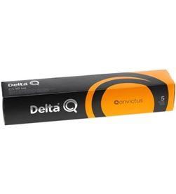 Todoelectro.es caja de 10 cápsulas de café delta qonvictus - intensidad 5 - compatible 5028325 - DEL-CAFE QONVICTUS