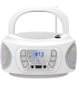 Fonestar BOOM-ONE-B radio cd blanco - 4w rms - bluetooth - fm - usb/mp3 - a - FONE-CD BOOM-ONE-B