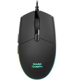 Ratón Mars gaming MMG - óptico - 800/3200dpi - 6 botones - iluminación rgb - TAC-MOU MMG