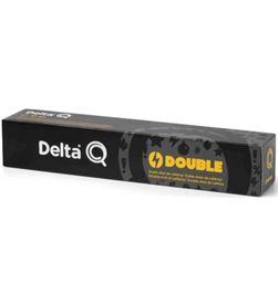 Todoelectro.es DEL-CAFE Q-DOUBLE caja de 10 cápsulas de café delta double - con ginseng y guarana - comp 6128000 - DEL-CAFE Q-DO