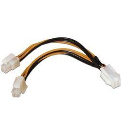 Cable de alimentación para microprocesador Aisens A131-0166 - 4pin/h-4+4p - AIS-CAB A131-0166