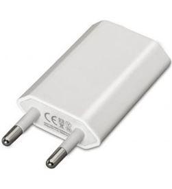 Apple 10.10.2001 cargador de pared nanocable - 1xusb - 5v / 1a / 5w (max) - compa - NAN-CARGA 10.10.2001