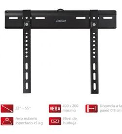 Fonestar soporte extraplano de pared pantallas planas 32''-55'' / 81.2-139.7cm - vesa stv-638n - FONE STV-638N