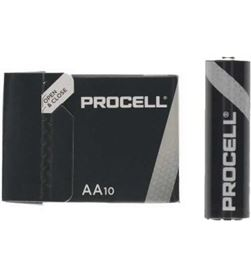 Pack 10 pilas aa (lr6) Duracell procell ID1500IPX10 - alcalina (zn/mno2) - - DRC-PILA ID1500IPX10